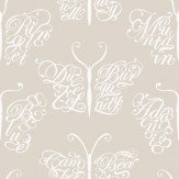 Mini Moderns Camberwell Beauty  Stone Wallpaper - Product code: AZDPT018 Stone
