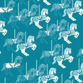 Mini Moderns Fayres Fair  Lido Wallpaper