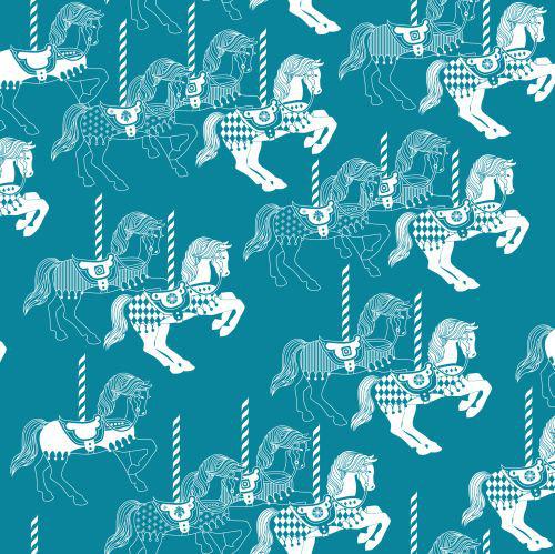 Mini Moderns Fayres Fair  Lido Wallpaper main image