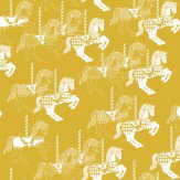 Mini Moderns Fayres Fair  Mustard Wallpaper - Product code: AZDPT010 Mustard