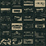 Mini Moderns C60  Chalkboard/ Gold Wallpaper - Product code: AZDPT009 Chalkboard