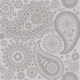 Mini Moderns Paisley Crescent  Concrete Wallpaper - Product code: AZDPT019 Concrete