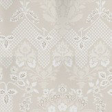 G P & J Baker Drummond Damask Stone Stone / Grey Wallpaper