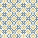 G P & J Baker Hicksonian Teal/Lime Teal / Lime Wallpaper