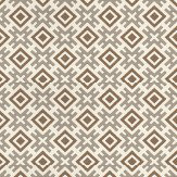 G P & J Baker Hicksonian Taupe/Bronze Taupe / Bronze Wallpaper