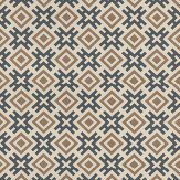 G P & J Baker Hicksonian Bronze/ Charcoal Wallpaper