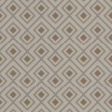G P & J Baker La Fiorentina Small Metallic Bronze / Slate Wallpaper - Product code: BW45062/4