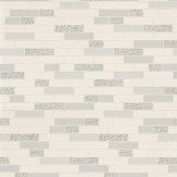 Albany Oblong Granite Grey/Silver Grey / Silver / Off White Wallpaper