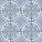 Louise Body Old Blue Blue / White Wallpaper - Product code: Old Blue