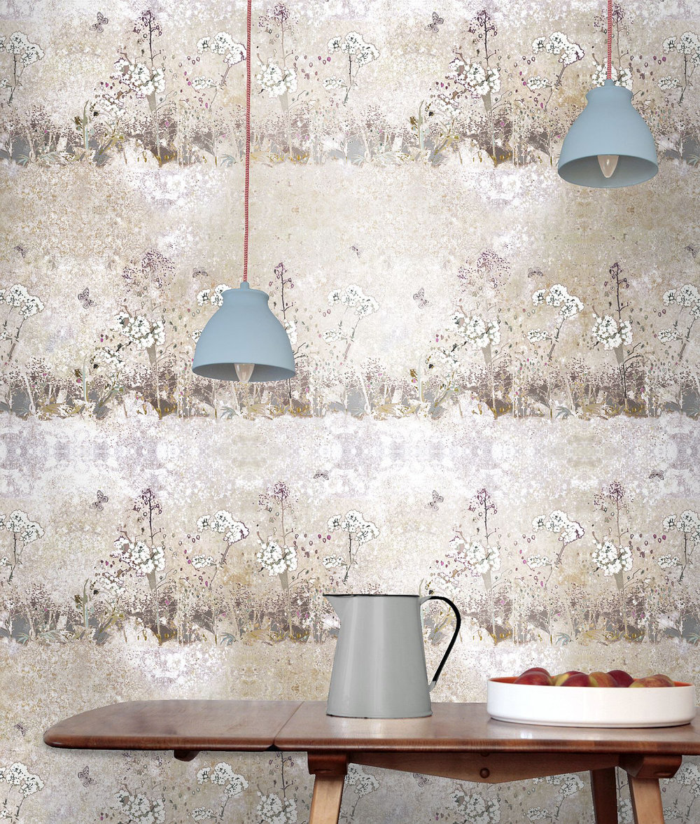Louise Body Meadow Sand Multi Wallpaper - Product code: Meadow Sand