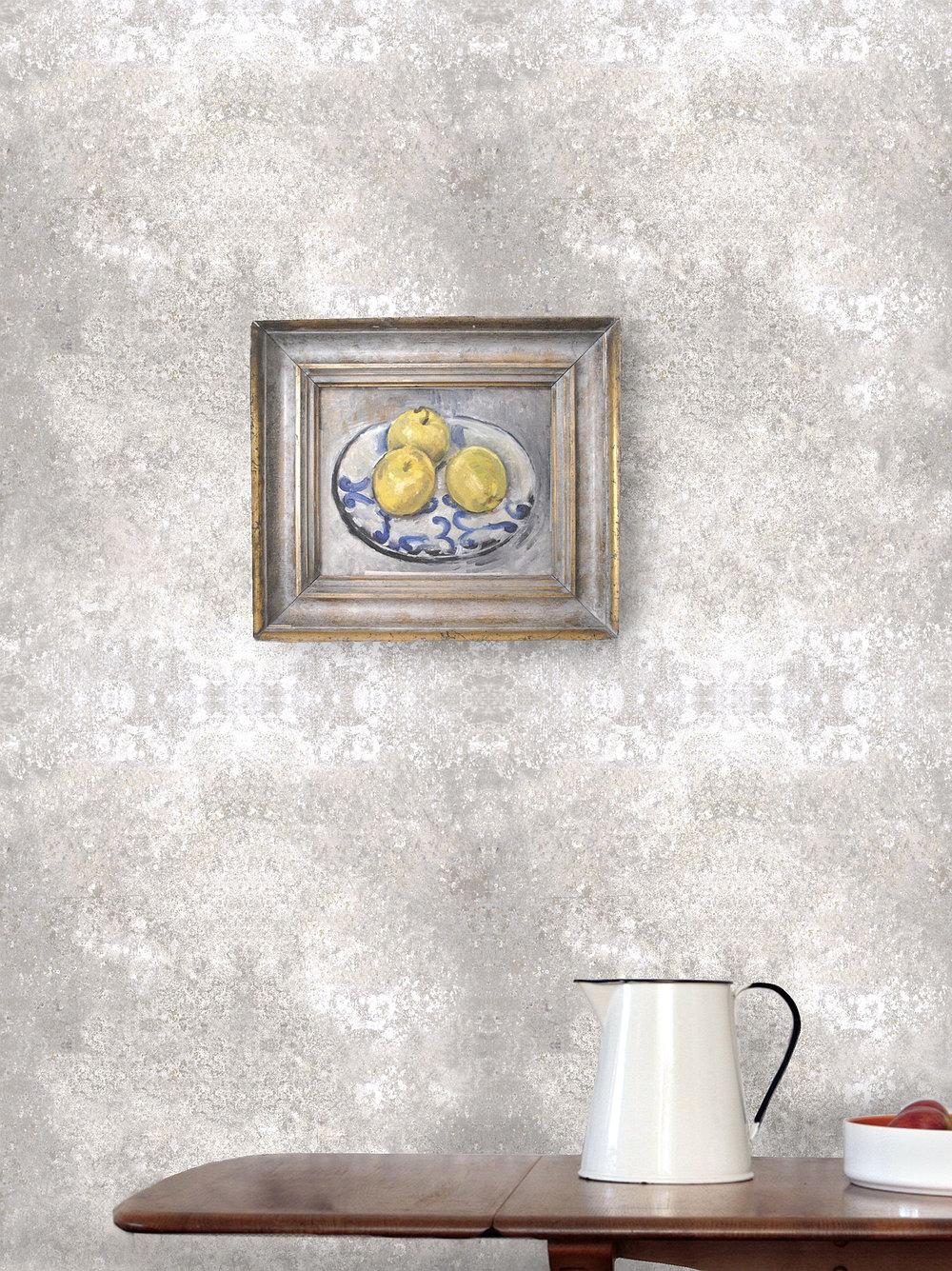 Stonewall Chalk Wallpaper - by Louise Body