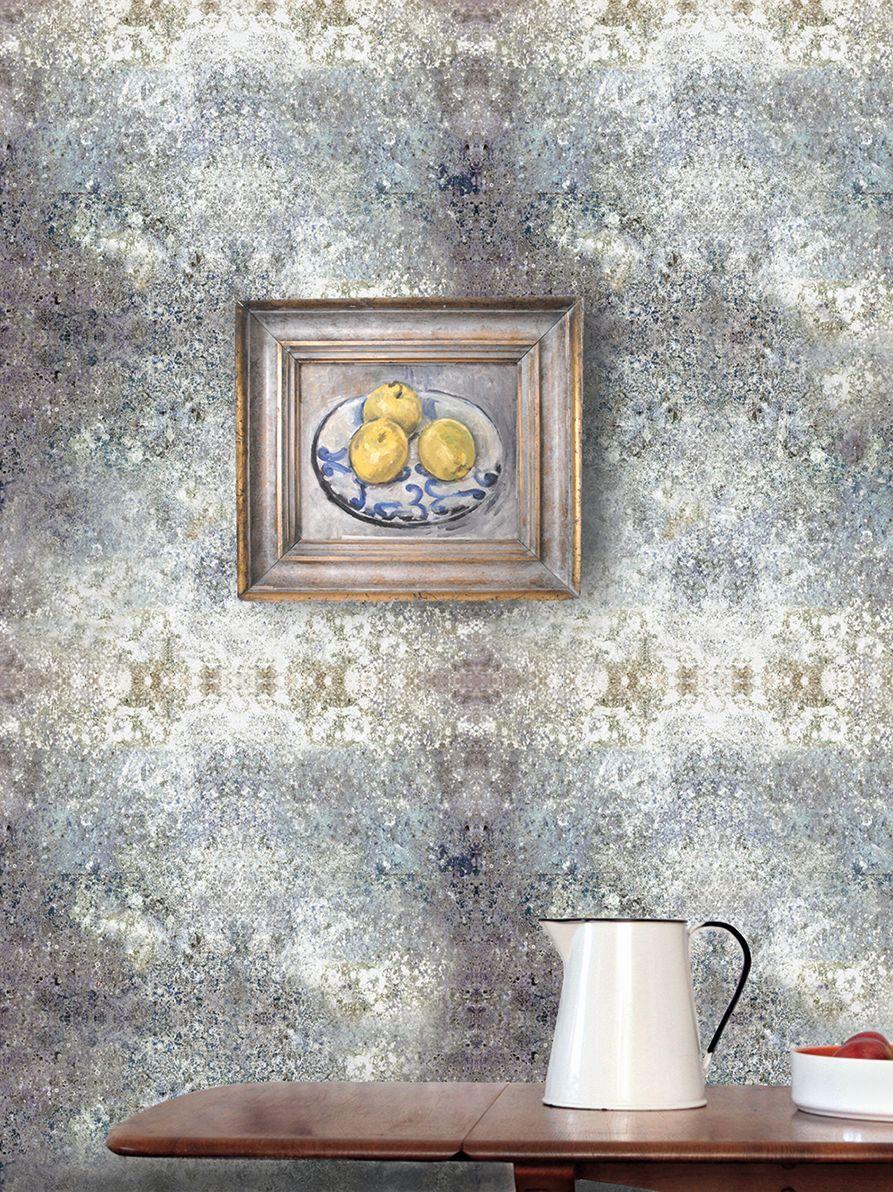 Stonewall Flint Wallpaper - by Louise Body