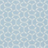 Thibaut Saroka Blue Wallpaper - Product code: T35102