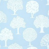 Thibaut Russell Square Blue Wallpaper