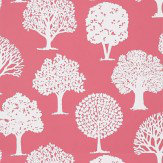 Thibaut Russell Square Raspberry Pink Wallpaper