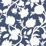 Thibaut Cabrera Navy Navy / White Wallpaper