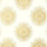 Thibaut Bahia Cream Gold / Cream Wallpaper - Product code: T35143