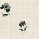 Albany Messina Black/Grey Off White / Black / Silver Wallpaper - Product code: 13763