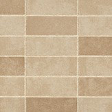 Albany Stone Tile Gold Wallpaper