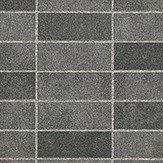 Albany Stone Tile Slate Grey Wallpaper