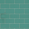 Albany Subway Tile Teal Wallpaper Main Image