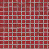 Mosaic Tile Sidewall Red/Silver