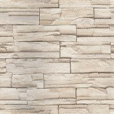 Eijffinger Granite Bricks Taupe Wallpaper