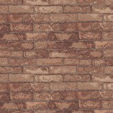 Eijffinger Brick Wall Red Wallpaper