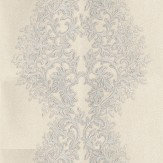 Roberto Cavalli Roberto Cavalli Damask Grey / White Wallpaper