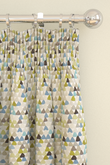 Harlequin Lulu  Pebble/ Seagrass Curtains - Product code: 120270