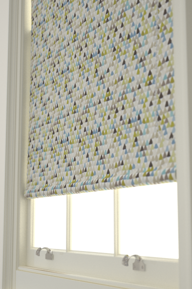 Harlequin Lulu  Pebble/ Seagrass Blind - Product code: 120270