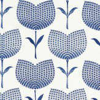 Harlequin Lolita  Indigo/ Chalk Fabric - Product code: 131074