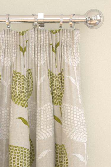 Harlequin Lolita  Apple/ Linen Curtains - Product code: 131075