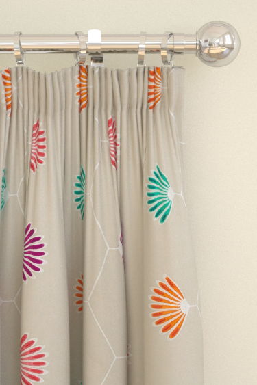 Harlequin Mirella  Emerald/ Amethyst Curtains - Product code: 131068