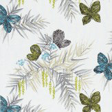 Harlequin Floret  Pebbles/ Seagrass Fabric - Product code: 120261