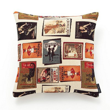 Image of Albany Cushions Girones Etiquetas Vintage, Girones Etiquetas