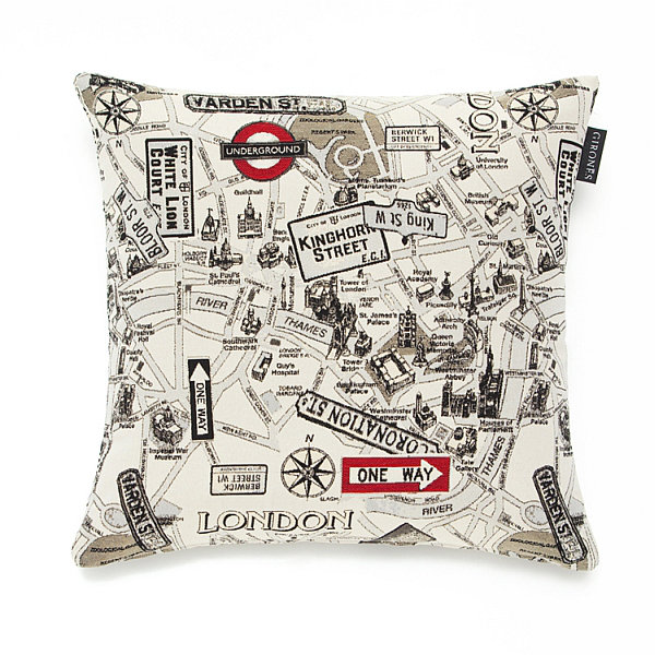 Albany Girones Street London Cushion - Product code: Girones Street