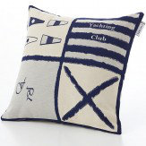 Albany Girones Yachting Club Blue C1 Cushion