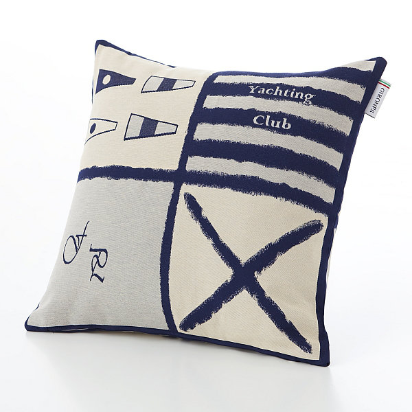 Albany Girones Yachting Club Blue C1 Cushion - Product code: Girones Yachting