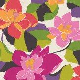 Scion Diva Peony/Acid/Sunset Pink / Orange / Green Fabric