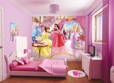 Walltastic Murals Fairy Princess bedroom in a box. 91005