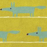 Scion Mr Fox Rug Mustard