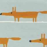 Scion Mr Fox Rug Aqua - Product code: 25308 / 150632