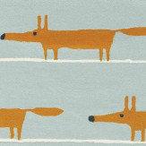 Scion Mr Fox Rug Aqua - Product code: 25308 / 150633