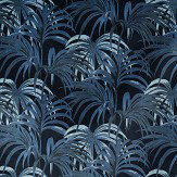 House Of Hackney Palmeral Midnight/Azure Wallpaper