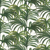 House Of Hackney Palmeral Off White/Green Wallpaper