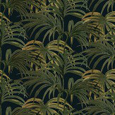 House Of Hackney Palmeral Midnight/Green Wallpaper