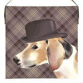 Arthouse Dog Printed Canvas Art