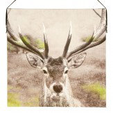Arthouse Stag Printed Canvas Art