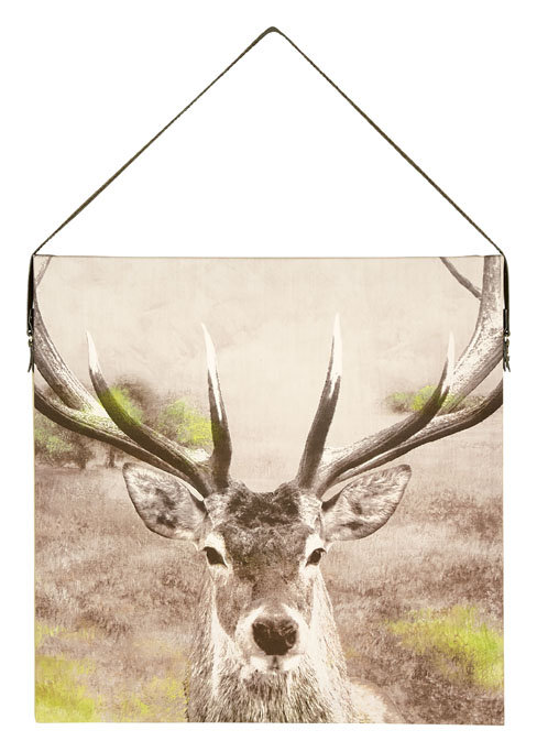 Arthouse Stag Printed Canvas Art - Product code: 003701